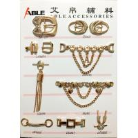 Custom Factory Price Nickle Free Metal Zinc Alloy Shoe Chain Buckle For Men