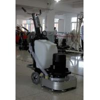 Four Grinding Plate Marble Floor Grinding Machine With Water Tank And Dust Port Manufactures