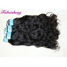 Original Virgin Human Hair Natural Wave No Smell / Curly Hair bundles Manufactures