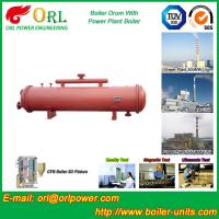 300 ton ionic boiler mud drum ORL Power Manufactures
