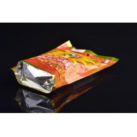 Heat Sealing Handle Food Packaging Bags , Printing Laminated Food Grade Stand Up Pouch Manufactures