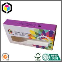 FEFCO 0211 Style Custom CMYK Full Color Paper Box; Glossy Lamination Carton Paper Box Manufactures
