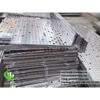 Custom Made Perforated Aluminum Sheet For Outdoor Facade Cladding Manufactures