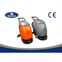 Medium Hardness Walk Behind Scrubber Dryer Machine For Cleaning Floors Manufactures