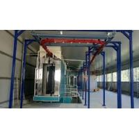 China 13KW Spray Coating Line 3Hp Water Chilling Power For Zinc Flake Paints DX 3 Series on sale