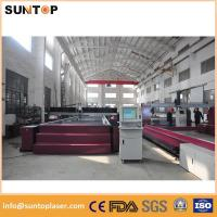 Quality 4 axis 37KW Steel high pressure water cutter Gantry type FDA CE for sale