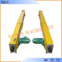 Motor Overhead Crane End Carriage RAL1004 ISO9001 CE CCC Approved Manufactures