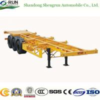40FT Skeletal Container Cargo Semi Trailers Manufactures