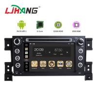 MP3 MP4 USB SD GPS SUZUKI Car DVD Player Double Din Head Unit Support TPMS Manufactures