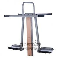 china outdoor park gym equipment wood like outdoor exercise machine surfboard Manufactures