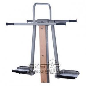 outdoor wooden fitness equipment--WPC wood outdoor surfboard Manufactures