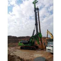 KR150C Rotary Borehole Drilling Machine , 1500mm Max Pile Diameter Manufactures