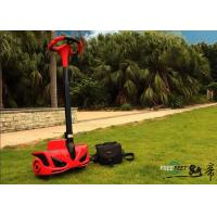 Red Portable Two Wheeled Personal Transport Scooter For Outdoor Patroller Manufactures