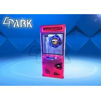 Coin Operated Mini Crane Game Machine / PP Tiger Toys Claw Arcade Vending Machine Manufactures