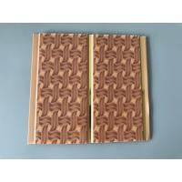 8 Inch Commercial Kitchen Plastic Wall Panel Brown Knitting Groove Design Manufactures