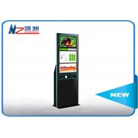 Quality 19 inch touch screen LED free standing kiosk with Windows system for sale