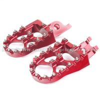 Durable Fat Wide Dirt Bike Passenger Foot Pegs For Off Road Parts Manufactures