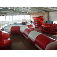 China Eco Friendly Inflatable Water Trampoline , Inflatable Outdoor Games For Beach on sale