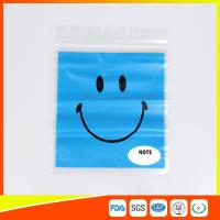 Reclosable custom printed plastic bags Transparent  for Grocery Manufactures