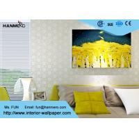 Bronzing Contemporary Wall Coverings Modern Office Wallpaper 0.685*8.23M