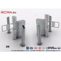 Buy cheap Semi - Automatic Swing Barrier Gate Card Readers for Door Entry Pass System from wholesalers