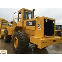 Mechanical Operation 6t  Used Cat Wheel Loader 966D 10.5 L Displacement Manufactures