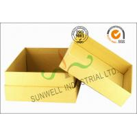 Kraft Paper Custom Printed Corrugated Boxes For Beauty Product Packaging Manufactures