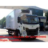 Quality China liuqi Brand 4*2 LHD 10tons cold room truck for sale, Factory sale best price Liuqi refrigerator van truck for sale