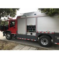 Four Cylinder Water Cooled 139kw 189hp Heavy Rescue Fire Truck 110Km/H Manufactures
