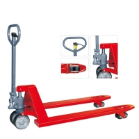 China Power Coated 80mm Hydraulic Hand Pallet Jack on sale