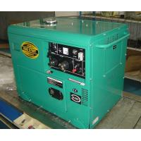 5KW Soundproof Small Diesel Generators For Home Backup , Portable Diesel Power Generator Manufactures