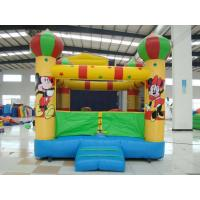 Amusement Park Inflatable Sports Games , Bounce House With Mini Jumper Slide Manufactures