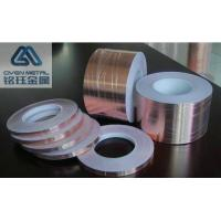 Non - Conductive Adhesive Copper Foil Tape For EMI Shielding T0.035*W380mmx L50m Manufactures