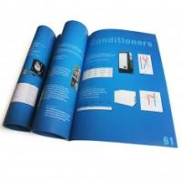 Quality OEM / ODM Saddle Stitching Online Business Catalogue Full Color Booklet Printing Service for sale