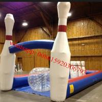 inflatable bowling set , inflatable bowling game , inflatable human bowling game Manufactures