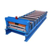 Buy cheap 380V Roof Panel Wall Plate Equipment Forming Machine from wholesalers