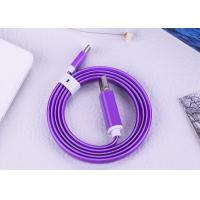 Quality 3 Feet USB Type C Cable With 2A Purple LED Glow Light For Mobile Phones for sale