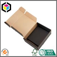 Black Color Outside Print Corrugated Cardboard Carton Shipping Box Manufactures
