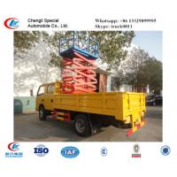 Quality DongFeng 4*2 LHD/RHD lifting high altitude operation truck for sale, best price hydraulic manlift aerial platform truck for sale