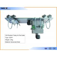 Buy cheap Flat Cable C Track Festoon System C32PT Pendant Trolley With Galvanized Steel from wholesalers