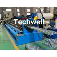 90mm Shaft Diameter Cable Tray Roll Forming Machine With 3.0kw Servo Feeding Device Manufactures