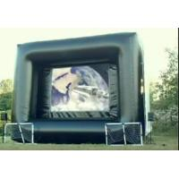 Inflatable Outdoor Movie Screen Frame PVC Tarpaulin Inflatable Projection Screen Manufactures