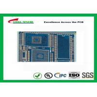 Quality PCB Fabrication And Assembly Printed Circuit Board Assemblies 6 Layer Blue for sale