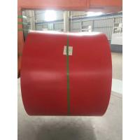 Galvalume Steel Sheet Prepainted Steel Coil Red Color For Corrugated Tile Manufactures