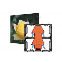 Commercial Ultra Thin LED Stage Screen Rental Pixel Pitch 3.91mm 4.81mm Manufactures