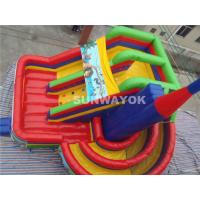 Ice Age Theme Giant Commercial Inflatable Slide / Inflatable Boucy Castle Slide With Much Fun Manufactures