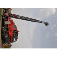 Quality 4 Ladder Section Aerial Ladder Fire Truck Lower Failure Rate 10720×2500×4000 Size for sale