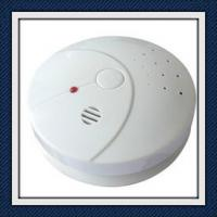 ABS Plastic Photoelectric Smoke Detector Alarm With Low Battery Warning EN14604 Manufactures