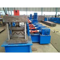 GearBox transmission M/W profile forming machine  for the guardrail with automatic punching and cutting system Manufactures