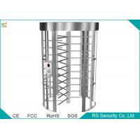 Access Control Barriers Automatic Turnstile Security Full Height Turnstile Gate Manufactures